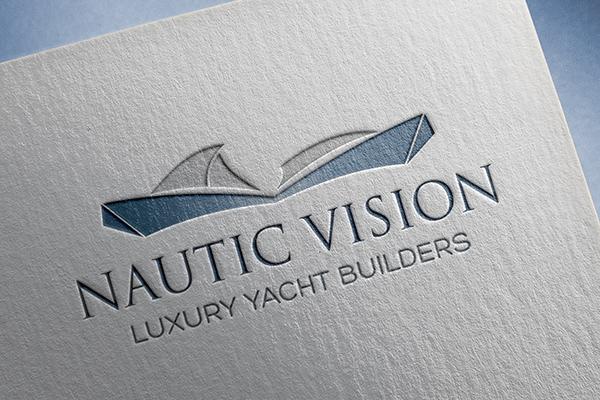 IDENTIDADE CORPORATIVA NAUTIC VISION – Luxury Yacht Builders